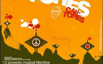 """O luns 7 de novembro presentase en Vigo o libro-disco-dvd """"Meniños Cantores"""""""