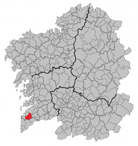 Gondomar-mapa