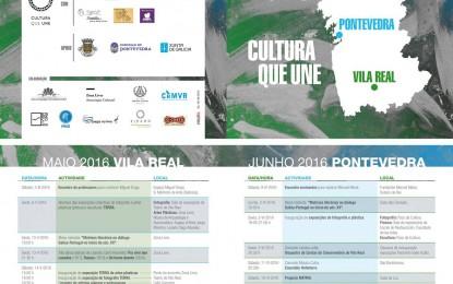 Cultura que une em Pontevedra no mês de Junho